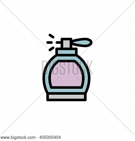 Mothers Day Perfume Outline Icon. Element Of Mothers Day Illustration Icon. Signs And Symbols Can Be