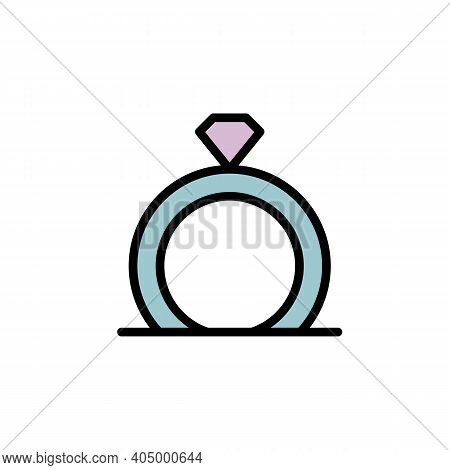 Mothers Day Ring Outline Icon. Element Of Mothers Day Illustration Icon. Signs And Symbols Can Be Us