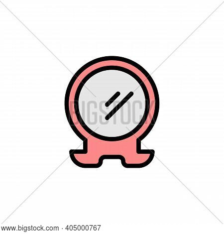 Mothers Day Mirror Outline Icon. Element Of Mothers Day Illustration Icon. Signs And Symbols Can Be