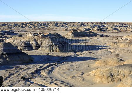 The Bisti/de-na-zin Wilderness Is A 45,000-acre Wilderness Area Located In San Juan County In The U.
