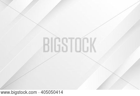 Gray And White Diagonal Line Architecture Geometry Tech Abstract Subtle Background Vector Illustrati