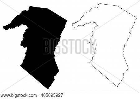 Grant County, State Of West Virginia (u.s. County, United States Of America, Usa, U.s., Us) Map Vect