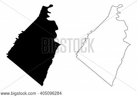 Jefferson County, State Of West Virginia (u.s. County, United States Of America, Usa, U.s., Us) Map