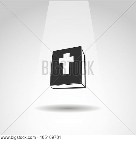 Holy Bible Icon. Bible Book Vector Icon, Simple Bible Icon