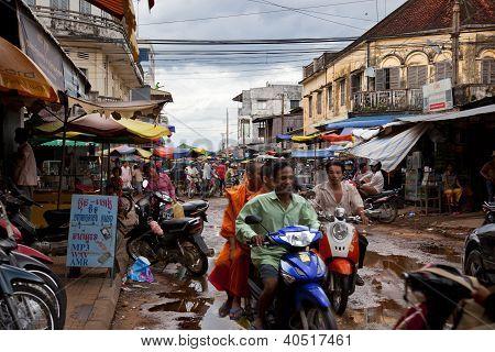 street in Cambodia
