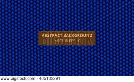 Blue Weave Background. Seamless Bamboo Pattern.vector Illustration.