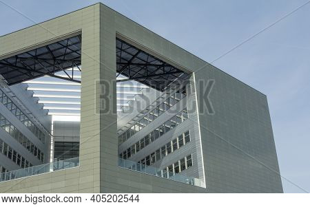 Wageningen, Netherlands - Februari, 2014: Orion Building At The Wageningen Univeristy And Research C