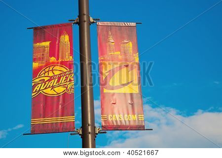 Cleveland Cavaliers Banners