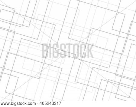 White And Gray Abstract Textured Background. Abstract Texture Can Be Used In Cover Design, Flyer, Po