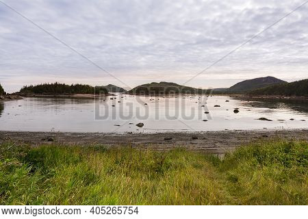 Strolling In The Parc National Du Bic Between The Sea And Beautiful Landscapes During A Summer Day
