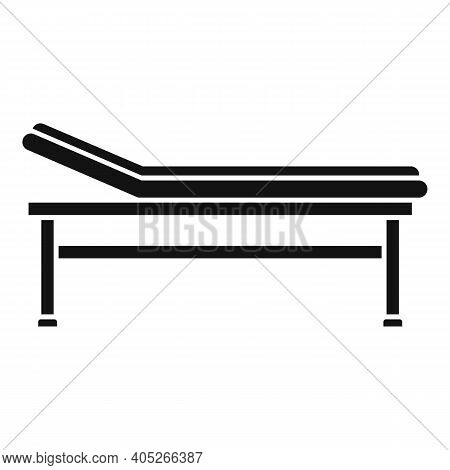 Magnetic Resonance Imaging Bed Icon. Simple Illustration Of Magnetic Resonance Imaging Bed Vector Ic