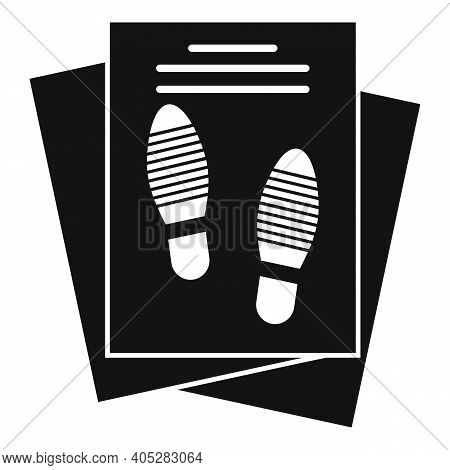 Investigator Papers Icon. Simple Illustration Of Investigator Papers Vector Icon For Web Design Isol