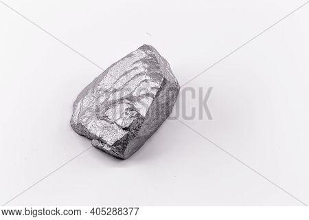 Molybdenite, A Rare Earth Sample Mineral Of Molybdenum, A Rare Earth Metal