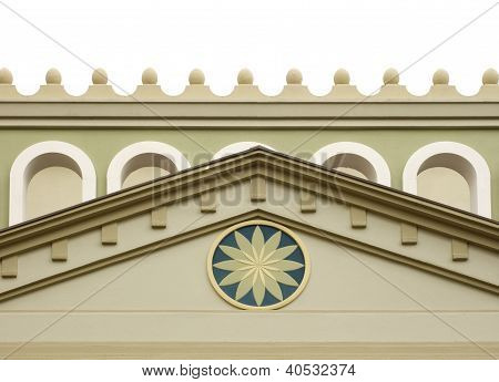 Tympanum Of A Castle
