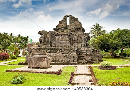 Candi Jago Temple  near by Malang on east Java, Indonesia. poster