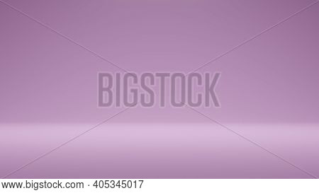 Modern Studio Background . Abstract Purple Coral Gradient Background Empty Space Studio Room For Dis