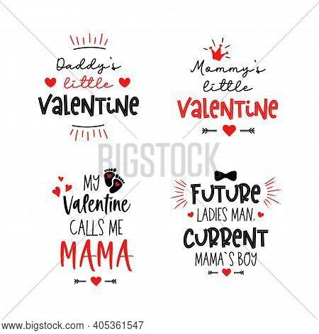 Mommys Daddys Little Valentine My First Day