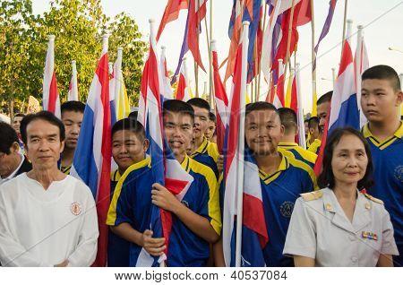 King Birthday Parade, Thailand
