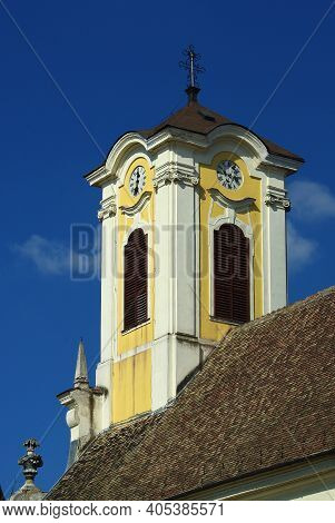 Yellow Belfry Of The Church, Szentendre, Hungary