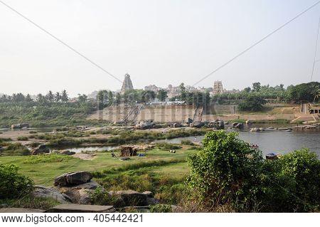A Hindu Temple In Gopuram Form