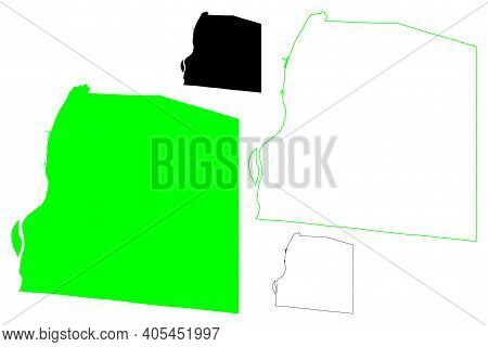 Ohio County, State Of West Virginia (u.s. County, United States Of America, Usa, U.s., Us) Map Vecto
