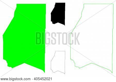 Preston County, State Of West Virginia (u.s. County, United States Of America, Usa, U.s., Us) Map Ve