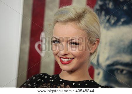 LOS ANGELES - NOV 03:  Francesca Eastwood arriving to