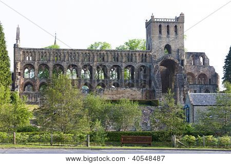ruins of Jedburgh Abbey, Scottish Borders, Scotland