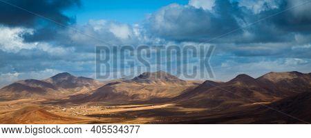 Mountains panorama high quality photo