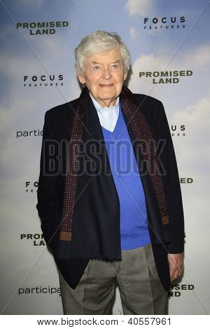 LOS ANGELES - DEC 6:  Hal Holbrook arrives at the 'Promised Land' Premiere at Directors Guild of America on December 6, 2012 in Los Angeles, CA