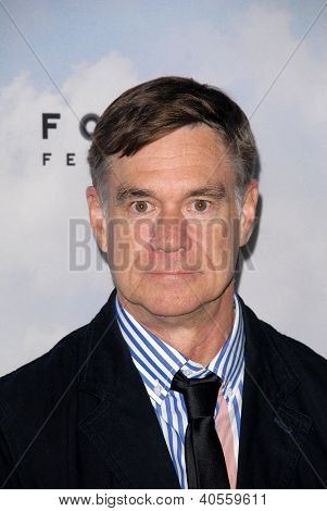 LOS ANGELES - DEC 6:  Gus Van Sant arrives at the 'Promised Land' Premiere at Directors Guild of America on December 6, 2012 in Los Angeles, CA