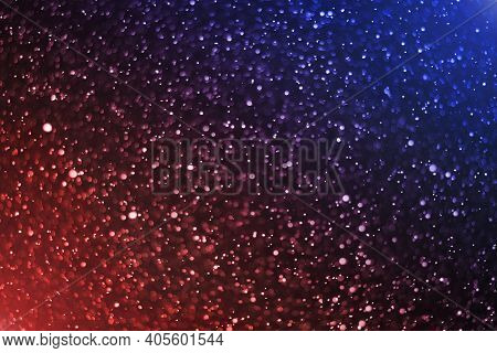 Abstract Color Gradient Background With Star Dust Effect