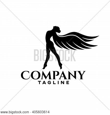 Modern Freedom Of A Woman As An Example Of A Logo