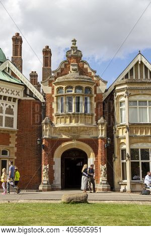 Bletchley, Uk - September 1, 2019. Bletchley Park The Home Of British Codebreaking And A Birthplace