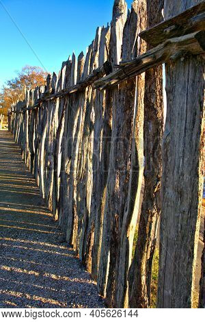 Stockade Fence In Jamestown