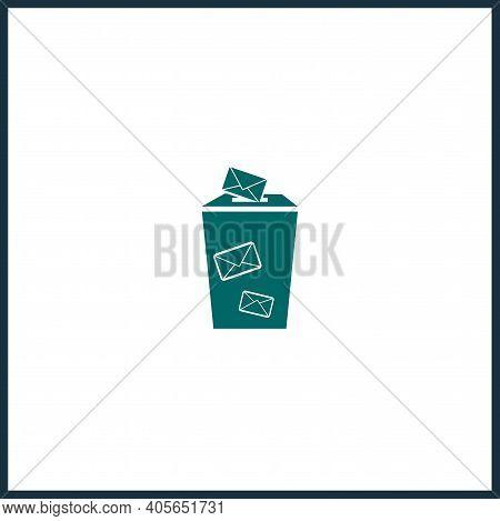 Ballot Vector Icon, Ballot Simple Isolated Icon