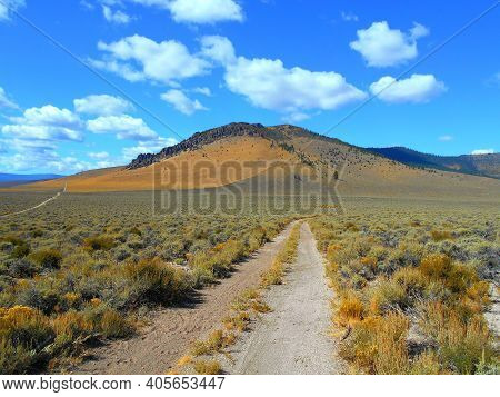 September Sunshine - A High Desert View In The Early Fall At The South End Of Pine Mountain - Near M