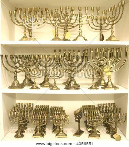 Jewish Chandeliers Menorah