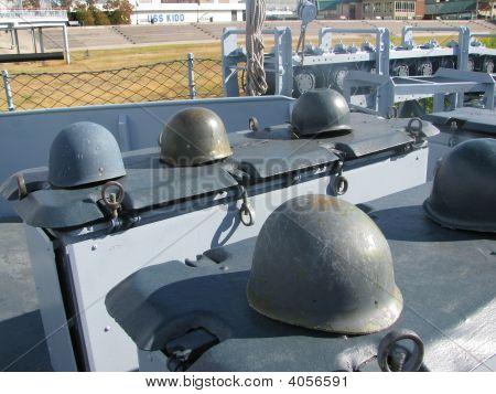 Uss Kidd Soldier'S Helmets