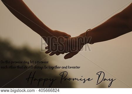 Happy Promise Day A Promise  Between Two Lovers Valentine