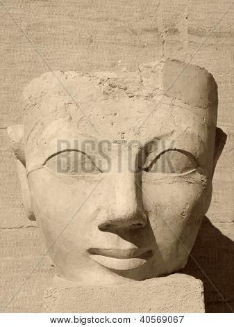 Ancient Face Of Hatschepsut