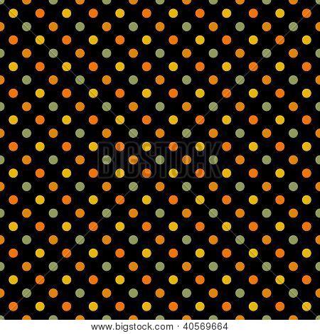 Seamless Bright Polka Dot Pattern
