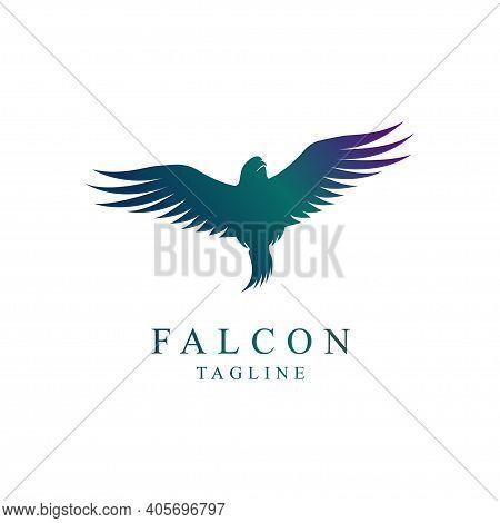 Falcon Bird Logo Flying Has Many Great Interpretations, Ranging From Some Kind Of Inspiration, Desti