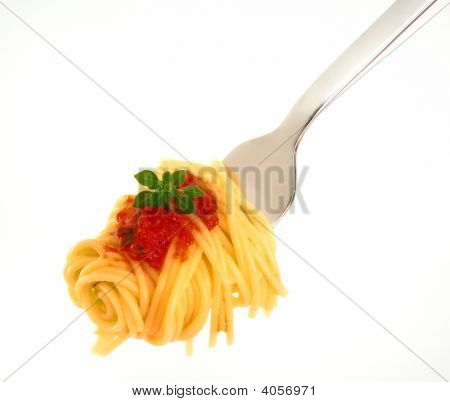 Spagetti On Fork
