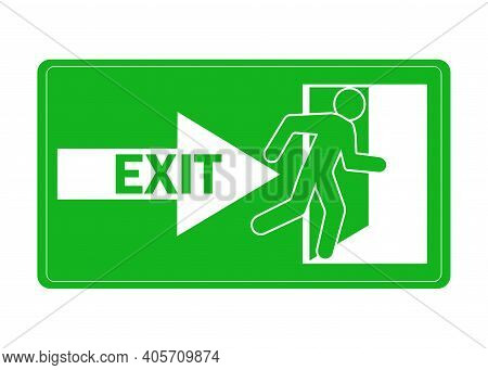 Exit Icon For Concept Design. Help Vector Illustration. Isolated Vector Icon. Vector Graphic Illustr