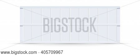 Empty Vintage Letter Board Light Box. Space For Your Message. Vector Illustration.