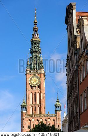 Gdansk Main Town Hall Is A Historic Ratusz Located In The Gdansk Main City In Poland