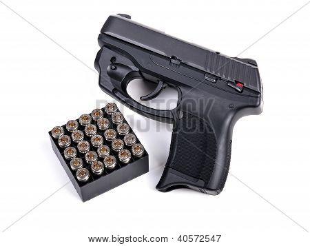 9Mm Handgun & Ammo