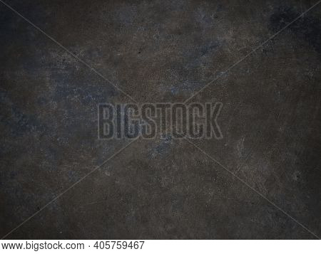 Concrete Wall For Texture Background With Vignetting