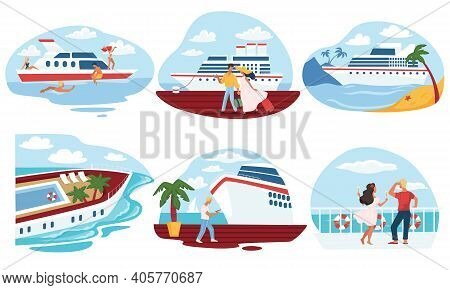 Cruise And Voyage Relax On Weekends Or Vacation